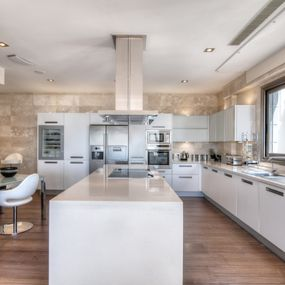 A modern fitted kitchen
